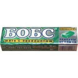 Buy Bobs lollipops 35g mint with eucalyptus