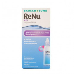 Buy Renu solution for the care of contact lenses 120ml
