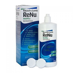 Buy Renu multiplus solution with protein cleaner 355ml