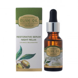 Buy Olive oil of greece (Olive oil of Greece) nightly facial serum for restoring 20ml