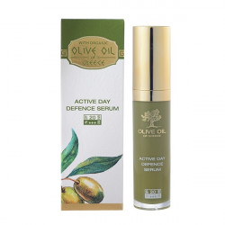 Buy Olive oil of greece (Olive oil of Greece) Face Serum daily protective spf20 30ml
