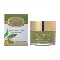 Buy Olive oil of greece (Olive oil of Greece) day cream for the norms. and oily skin 50ml