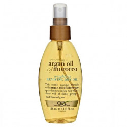 Buy Ogx (Ji-X) dry Moroccan argan oil spray to restore hair 118ml