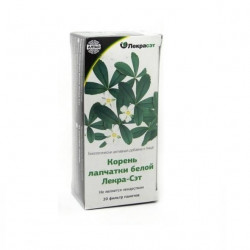 Buy Potentilla white root filter package 1.5g No. 20