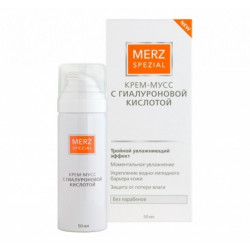 Buy Special Merz cream mousse with hyaluronic acid vial 50ml
