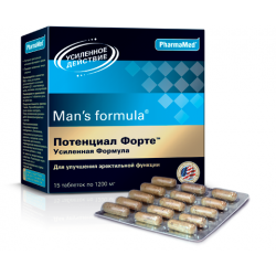 Buy Men-s formula potential forte enhanced formula tablet number 15
