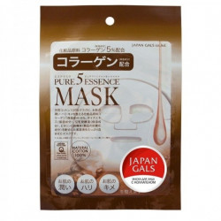 Buy Collagen facial mask japan gals pure5 essential №1