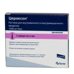 Buy Ceraxon solution 1000mg 4ml No. 5