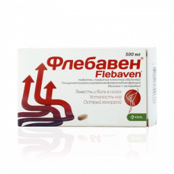 Buy Flebaven Coated Tablets 500mg №32