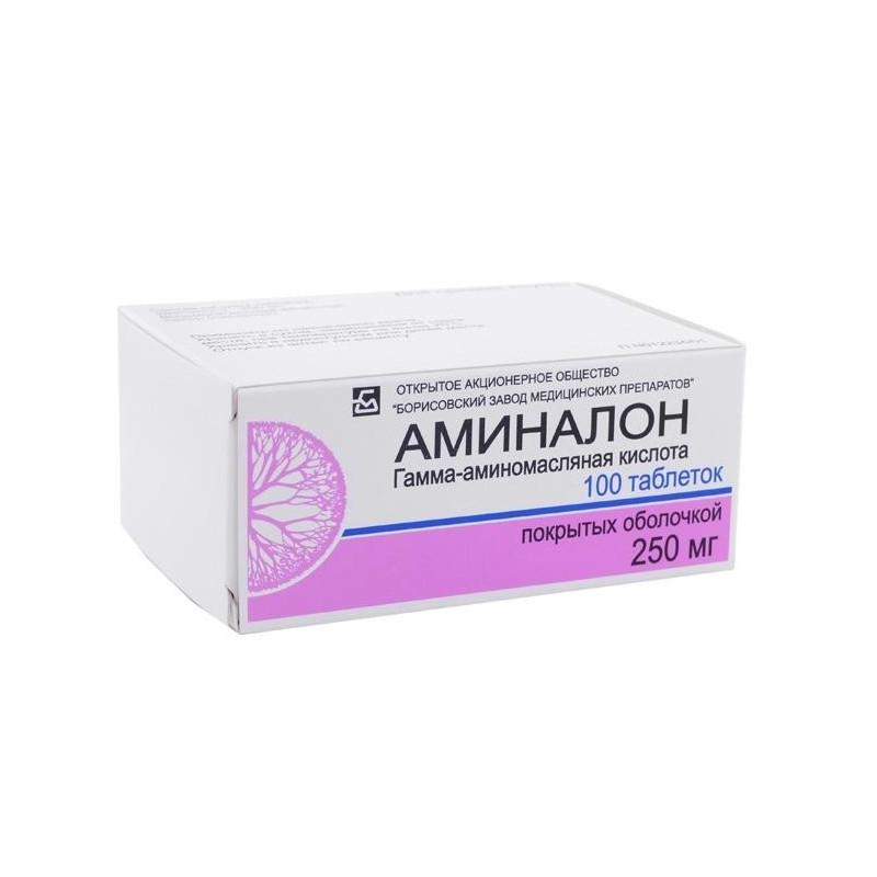 Buy Aminalon tablets 250mg №100