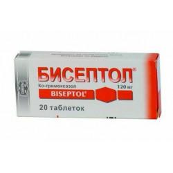 Buy Biseptol tablets 120mg №20