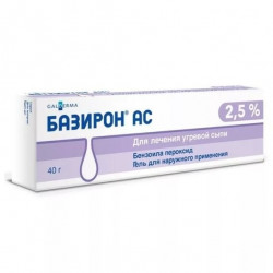 Buy Baziron ace gel 2.5% 40g
