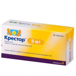 Buy Crestor 5 mg coated tablets No. 98