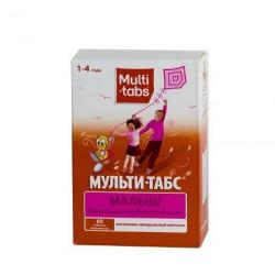 Buy Multi-tabs kid chewable tablets №60 raspberry-strawberry