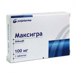 Buy Maxigra tablets 100mg №1