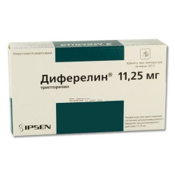 Buy Diferelin powder for injection 11.25mg + solvent + syringe No. 1