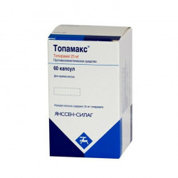 Buy Topamax capsules 25mg №60