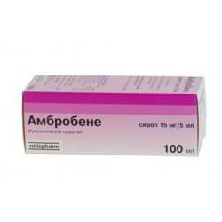 Buy Ambrobene syrup 15mg / 5ml bottle 100ml