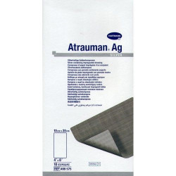 Buy Atrauman ag (atrauman) ointment dressing with silver 10x20sm №3