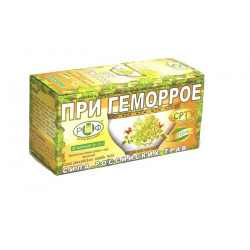 Buy Herbal tea is the power of Russia. herbs number 33 with hemorrhoids filter pack 1.5 g number 20