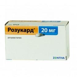 Buy Rosucard 20mg tablets №60