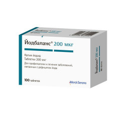 Buy Yodbalans pills 200mkg number 100
