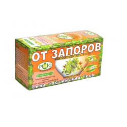 Buy Herbal tea is the power of Russia. Herbs No. 38 for constipation filter pack 1.5 g No. 20