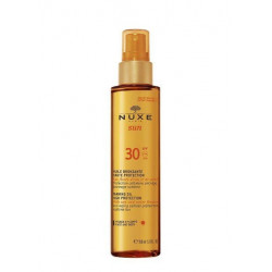Buy Nuxe (nyuks) san oil tinting for face spf-30 150ml