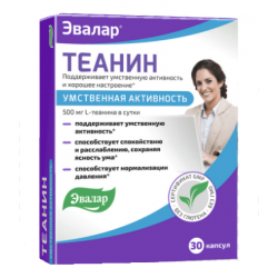 Buy Theanine Capsules No. 30