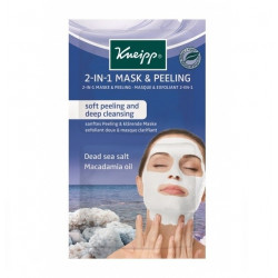 Buy Kneipp (Kneipp) mask-scrub cleansing 2in1 salt of the dead sea 2 * 8ml