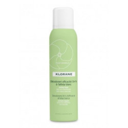 Buy Klorane (Cloran) deodorant spray 24 hours of efficacy white marsh mallow 125ml
