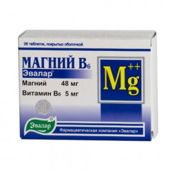 Buy Magnesium B6 tablets №36