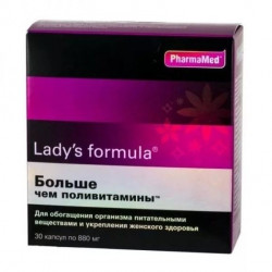 Buy Lady-formula is more than multivitamin capsules No. 30
