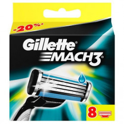 Buy Gillett Mach 3 cassettes (8pcs)