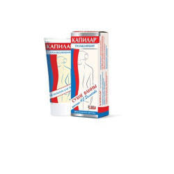 Buy Capilar body cream-balm cooling tube 75ml
