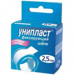 Buy Adhesive plaster uniplast silk 2.5 * 500cm