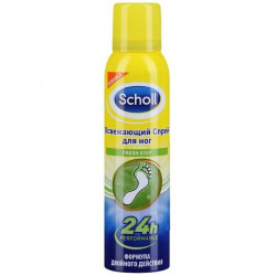 Buy Scholl (Scholl) foot spray refreshing 150ml