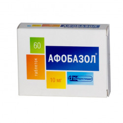 Buy Afobazole tablets 10mg №60
