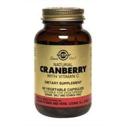 Buy Solgar (slang) natural cranberries with vitamin C capsules No. 60