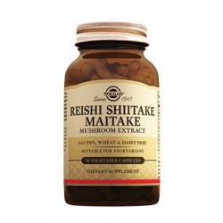 Buy Solgar (Solgar) Reishi Mushroom Extract, Shiitake Maiake Capsule No. 50