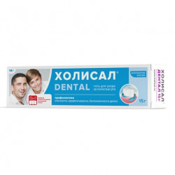 Buy Holistal dental oral care gel 15g