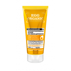 Buy Organik shop (organic shop) Bio Mask for hair 200ml egg