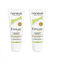 Buy Noreva (norev) exfoliac emulsion mattifying sunscreen spf50 + 40ml №2