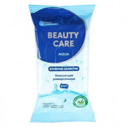 Buy Wet wipes beauty care universal №20 aloe and vitamin e
