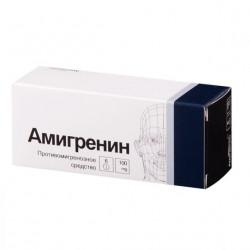 Buy Amigrenin tablets 100mg №6