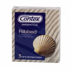 Buy Contex condoms ribbed ribbed No. 3