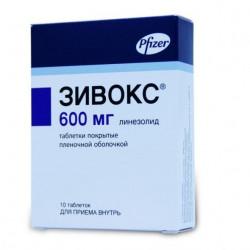 Buy Zyvox 600mg n10 tablets