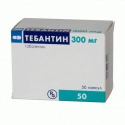 Buy Tebantine capsules 300mg №50