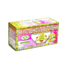 Buy Herbal tea is the power of Russia. Herbal №37 with mental fatigue filter filter 1.5g № 20