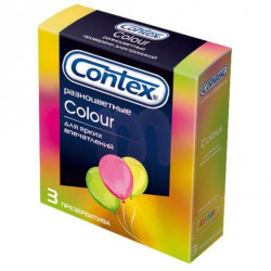 Buy Contex color condoms №3